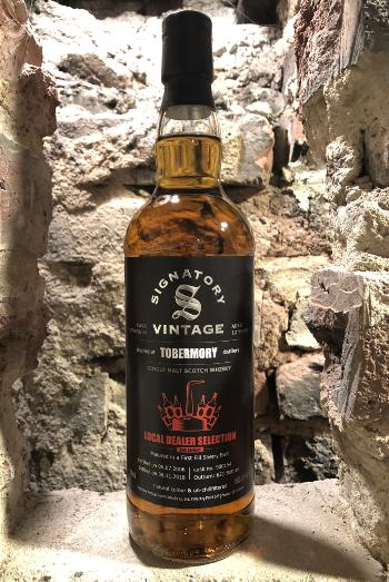 Single Malt Whisky - Tobermory 2006 von SV Local Dealer Edition 2 - 1st Fill Sherry Butt 65,5%vol. 0,7l, Lokal 64,90€ / 70,85€ incl. Versand