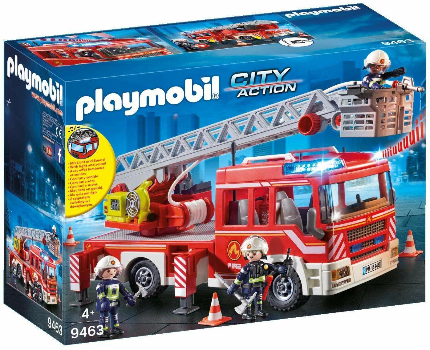 Playmobil City Action - Feuerwehr-Leiterfahrzeug (9463) für 33.95€ (Amazon.fr)
