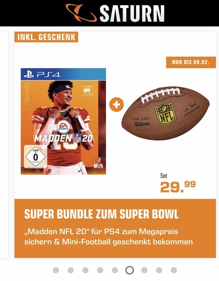 Madden 20 NFL (PS4 & Xbox) + Mini Football