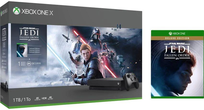 Xbox one X Inc Versand & Spiel für 299€