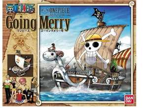 One Piece Piratenschiff Modellbausatz