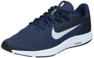 Nike Herren Downshifter 9 schuhe, Blau (Midnight Navy/Pure Platinum 401