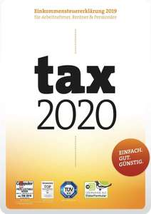 Tax 2020 als Download oder Box Version [Amazon]