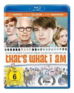 Blu-rays für 4,97 € @Amazon (That's What I Am, Mein bester Feind, Last Ride, I want to be a Soldier)