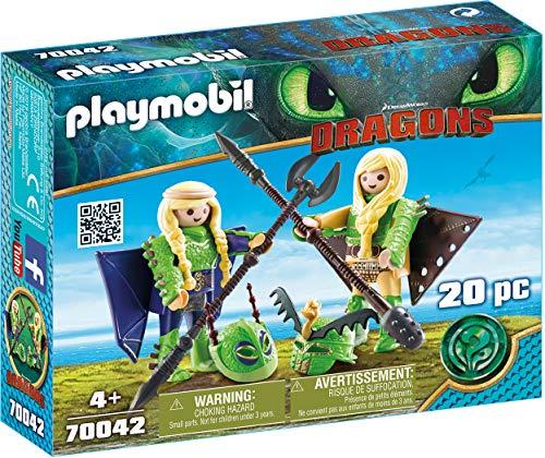 Playmobil Dragons - Raffnuss und Taffnuss mit Fluganzug (70042) für 5,35€ (Amazon Prime & Real)