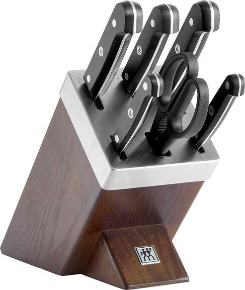 Sammeldeal Zwilling: z.B: Gourmet Selbstschärfender Messerblock 7tlg. für 118,99€ | Professional S Messerset, 3-teilig für 59,99€ [Amazon]