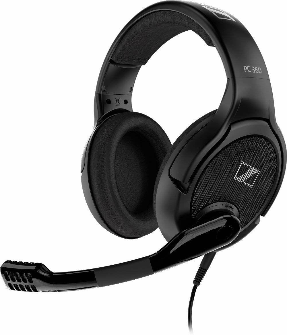 Sennheiser PC 360 Special Edition offenes Over-Ear Gaming-Headset, kabelgebunden (Klinke), Noise Cancelling Mikrofon - schwarz