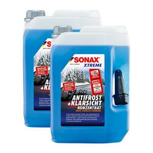 2x5L SONAX XTREME AntiFrost+KlarSicht Konzentrat