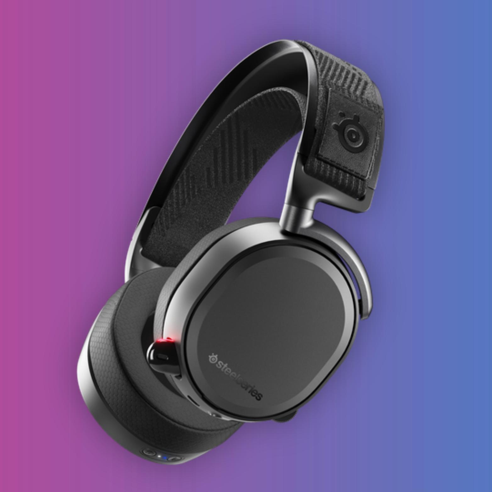 Steelseries Arctis Pro Wireless: Kabelloses Gaming-Headset (WiFi, Bluetooth, 20h Akku, 40mm Treiber)