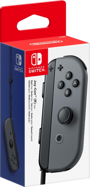 Nintendo Switch Joy-Con Rechts (Grau) für 34,70€ (Amazon FR)