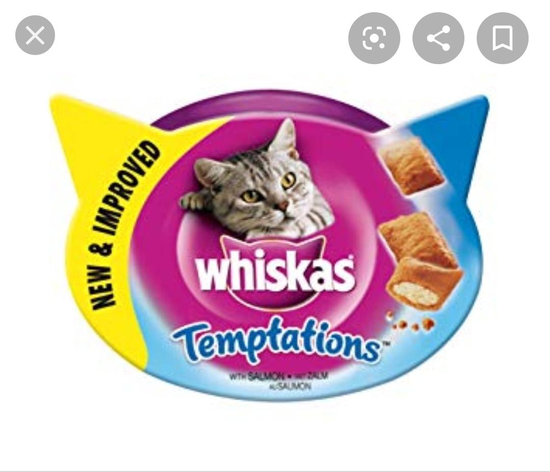 [Rossmann] 3x Whiskas Knuspertaschen für die Katz