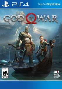 God of War (PS4) für 4,79€ (US & CA PSN) bei Cdkeys