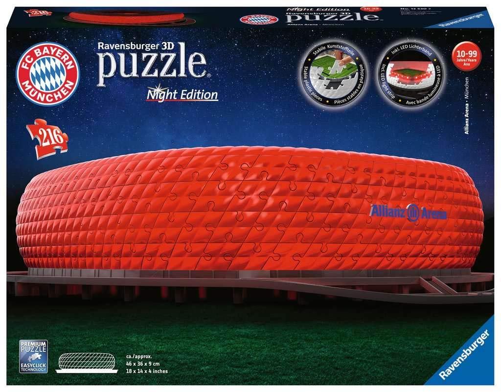 FC Bayern 3D Puzzle Allianz Arena SALE im Fan Shop