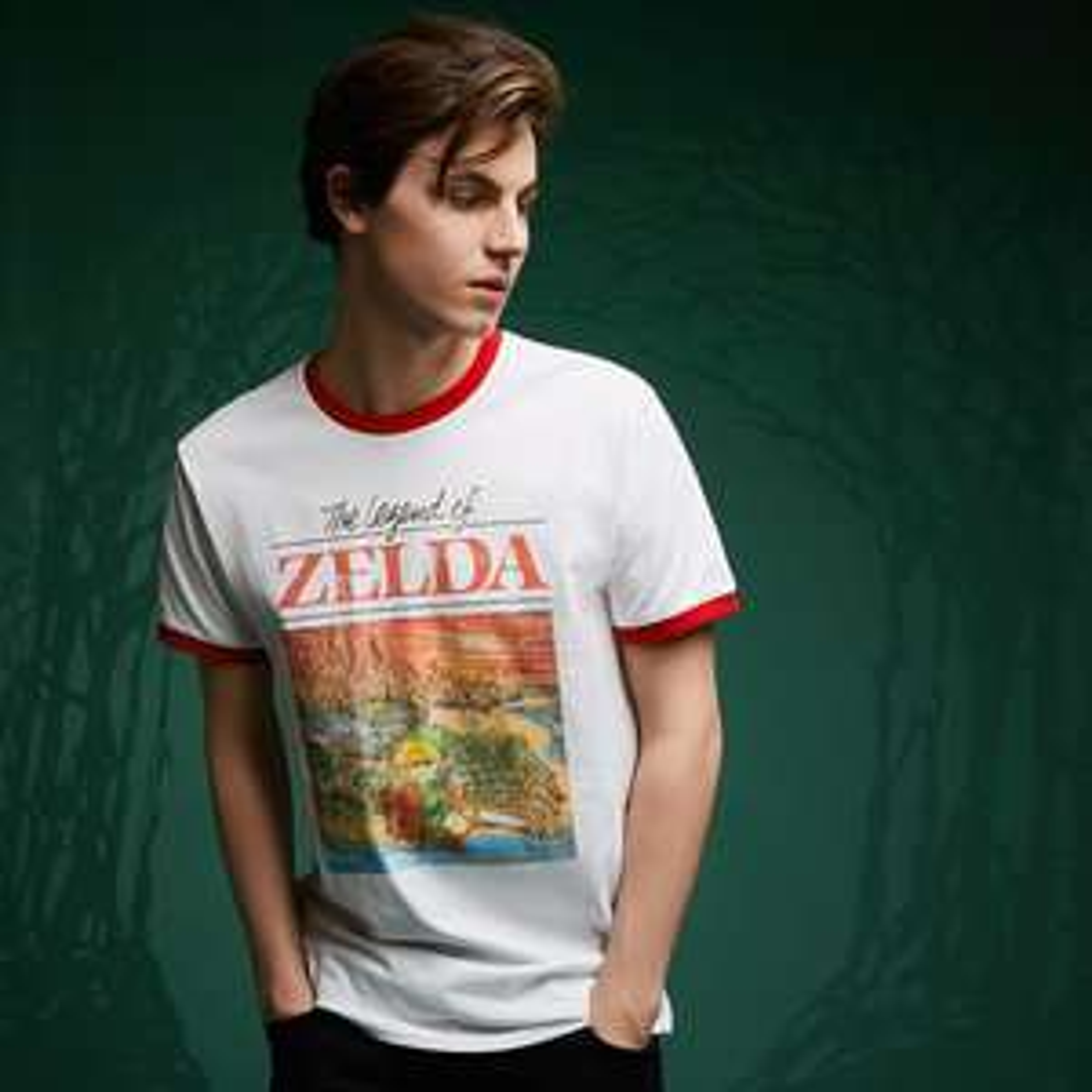 Zelda T-Shirt und Pullover-Kollektion, zB Retro Box Art T-Shirt