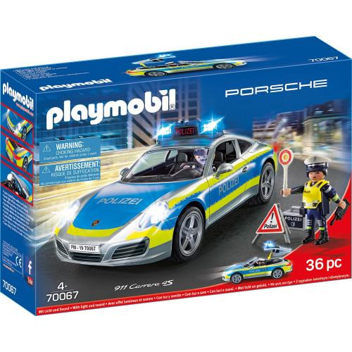 Playmobil Porsche 911 Carrera 4S Polizei (70067)