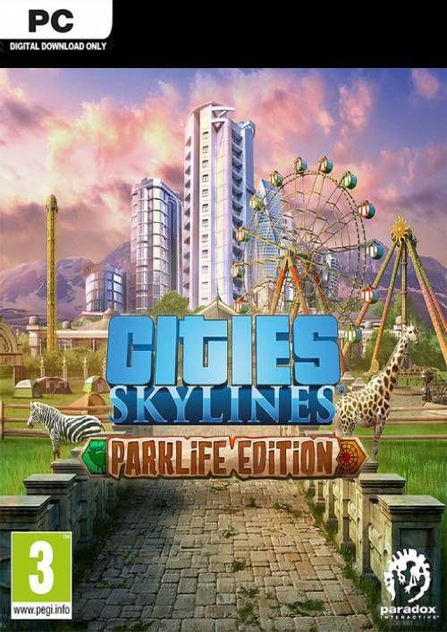 Cities: Skylines - Parklife Edition Hauptspiel + Parklife (Steam) für 6,49€ (CDkeys)