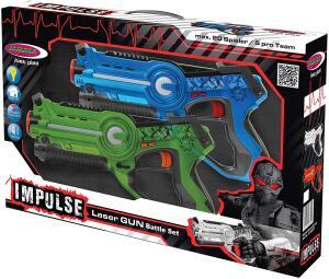 Jamara Impulse Laser Battle Set – Laser Tag mit 3 Battlemodi für 20,83€ (Media Markt Abholung)