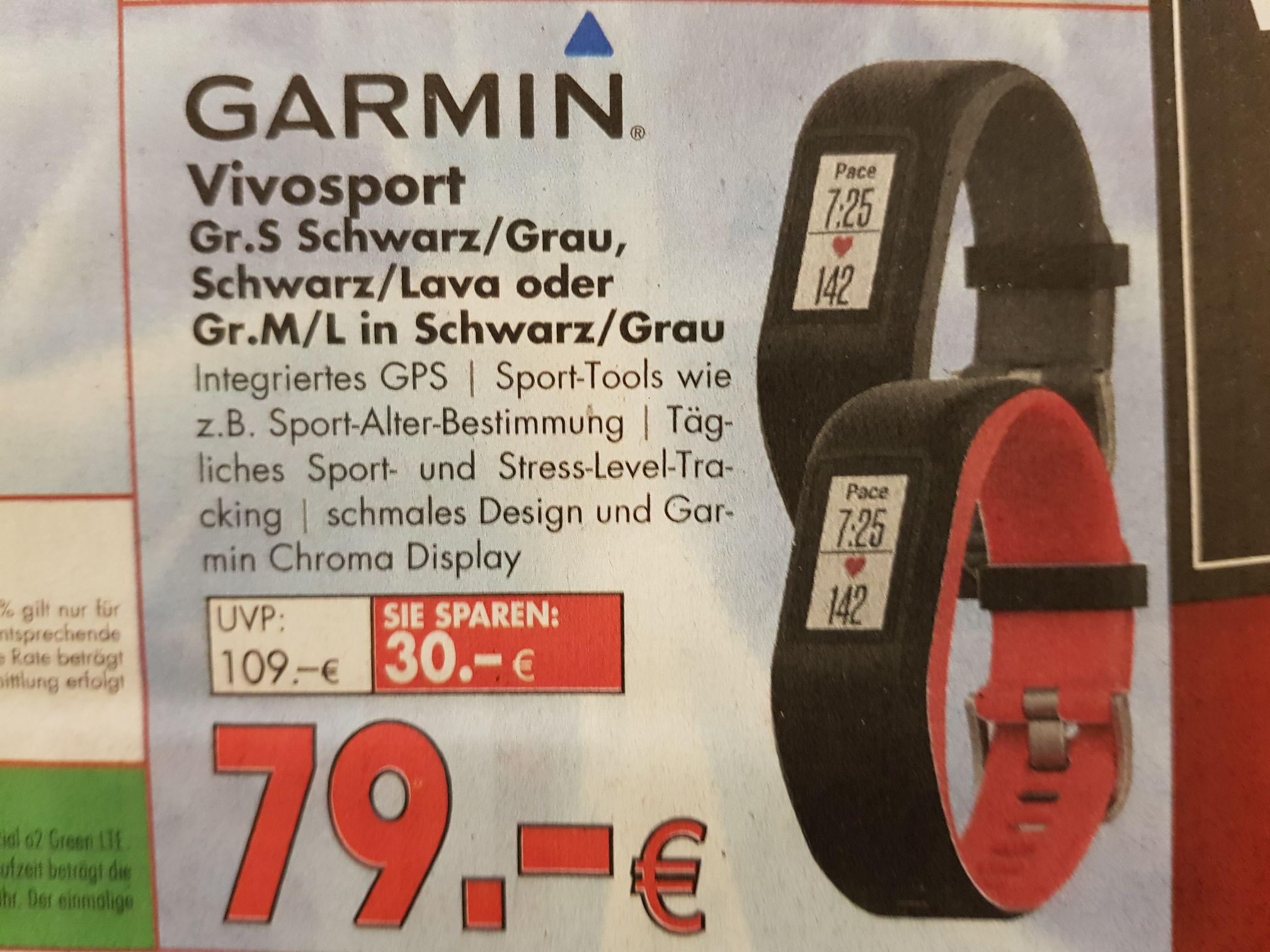 Hirsch & Ille Ludwigshafen, Garmin Vivosport für 79 €