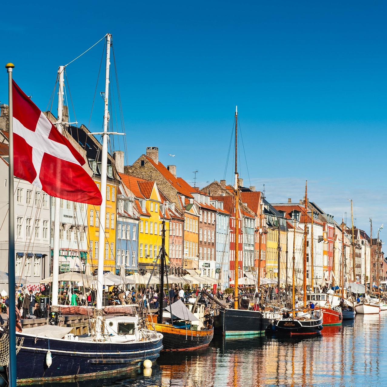 Flüge nach Dänemark (Kopenhagen) hin und zurück von Düsseldorf, Stuttgart, Köln und Nürnberg (Februar - April) ab 3,05€