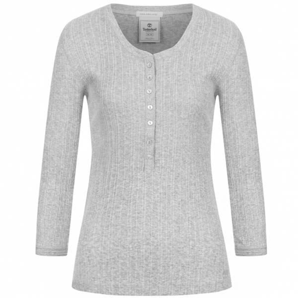 """Timberland Damen Langarm-Shirt """"Aspen Henley"""" (Größe L, 100% Baumwolle) [SPORTSPAR]"""