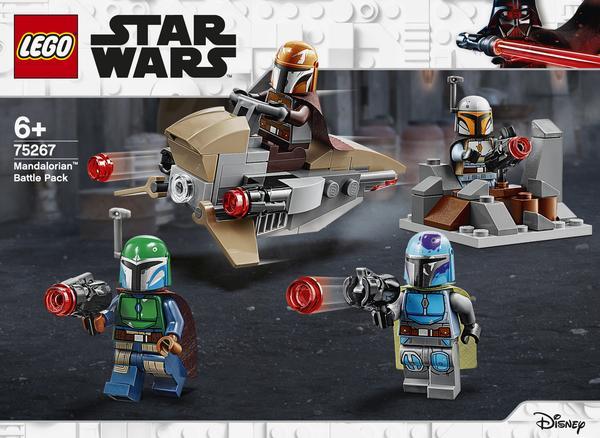 Das legendäre Lego Star Wars Mandalorianer Battle Pack 75267 ...bevorratet euch ;)