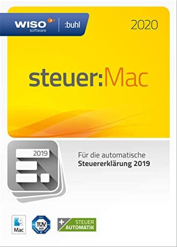 WISO steuer:Mac 2020 für 19,99€   WISO steuer:Sparbuch 2020 für 19,19€ [Amazon Prime]