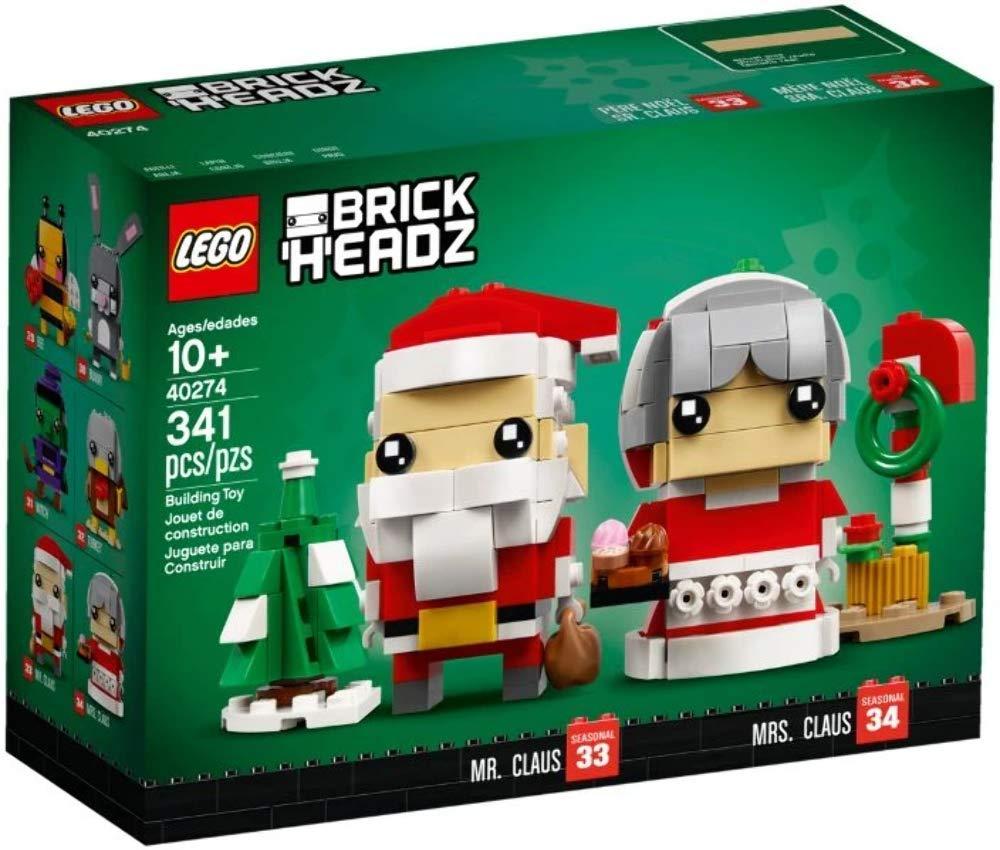 LEGO Set - Brickheadz Herr und Frau Weihnachtsmann für 12,99€ (GameStop Abholung)