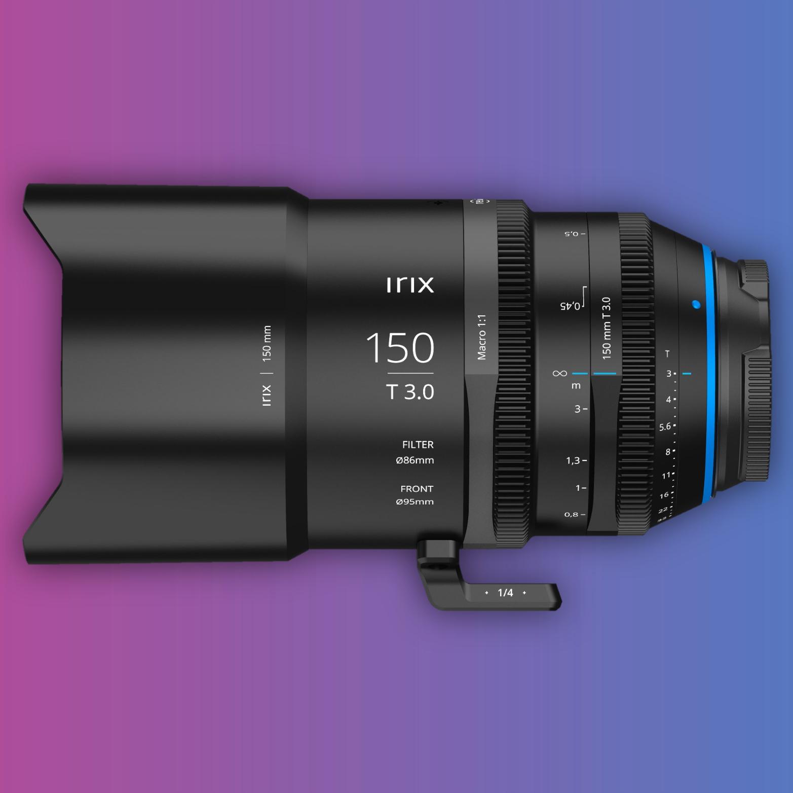[MFT] Irix Cine Lens 150mm Macro 1:1 T3.0 Filmobjektiv