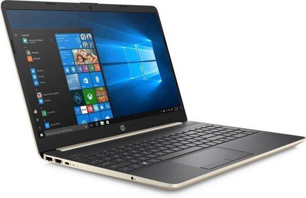"HP 15-dw0415ng - 15,6"" FHD IPS Notebook (i5-8265U, 256GB M.2 SSD, 8GB RAM, 41Wh, Win10, Fingerprint) Pale Gold/Ash Silver"