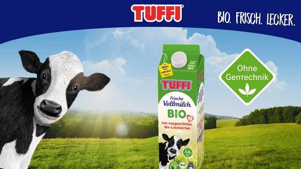 50% Cashback auf Tuffi Bio Milch (gültig nur in NRW)