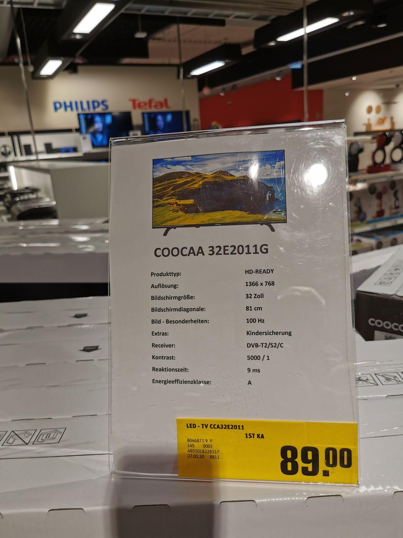 "32"" TV COOCAA E2011G (Lokal REWE Markt Bonn Pützchen)"