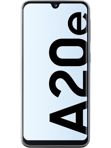 Samsung Galaxy A20E 32 GB in den Farben Black, White, Blue oder Coral für 135€, bei Filiallieferung ohne Versandkosten