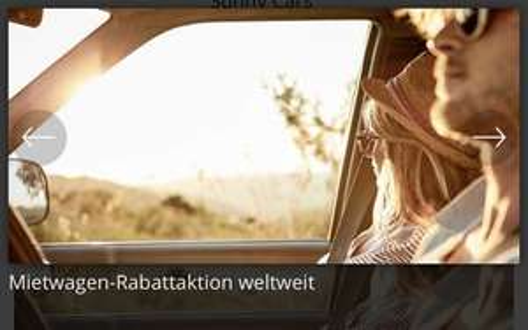 Mietwagen Sunny Cars 15€ Gutschein