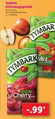 Tymbark Apple Mint & Apple Cherry polnisches Erfrischungsgetränk