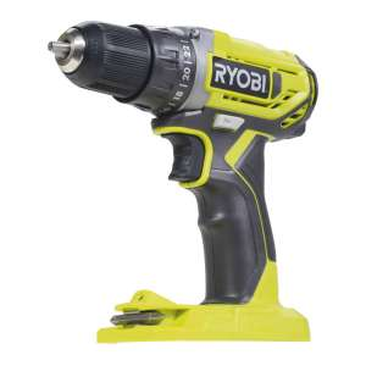 Ryobi R18DD2-0 18 V Akku-Bohrschrauber | Bohren in Holz Und Metall | LED-Beleuchtung