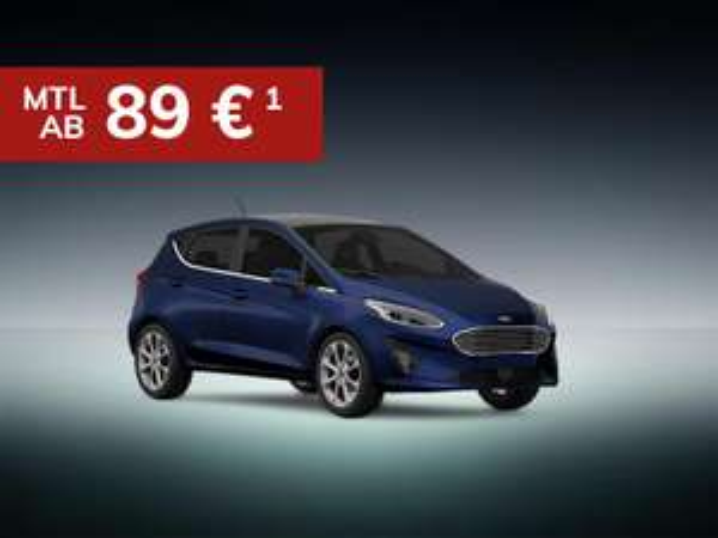 Ford Fiesta Cool & Connect für 89€ monatlich / 48 Monate / 10.000km