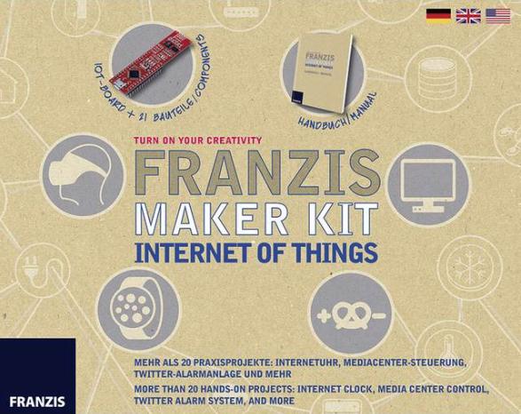 Franzis Verlag 65316 Maker Kit Internet of Things inklusive IoT-Board, bei Abholung sonst +6,49€