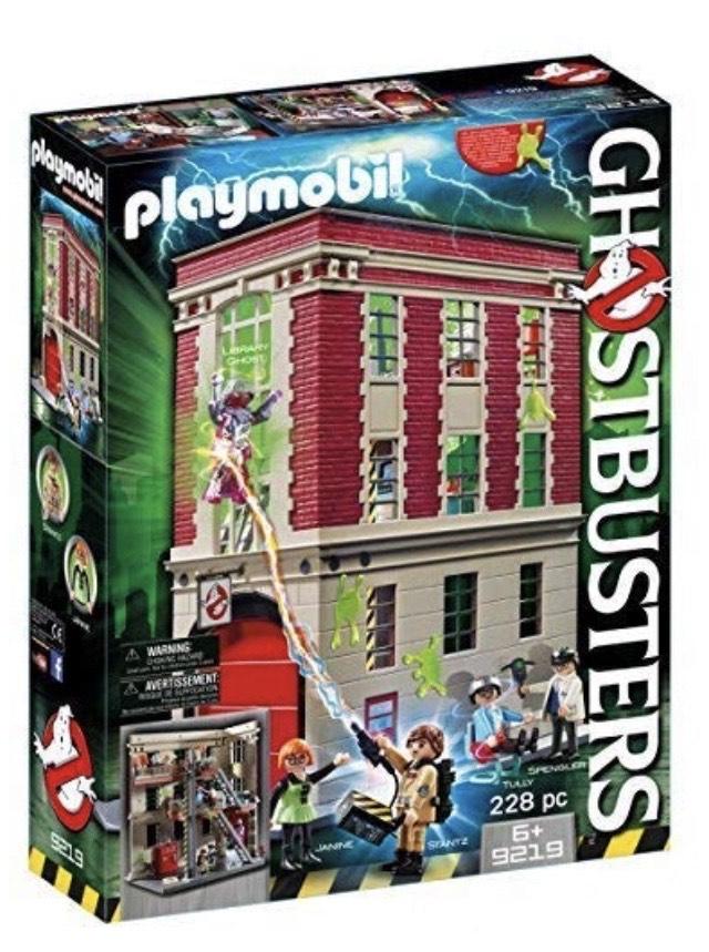 [lokal Essen Real] Sammeldeal Playmobil Ghostbusters Feuerwache etc., Skihütte, Ferienvilla