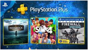 Playstation Plus Februar: Bioshock Collection + The Sims 4 + Firewall Zero Hour (PS4)
