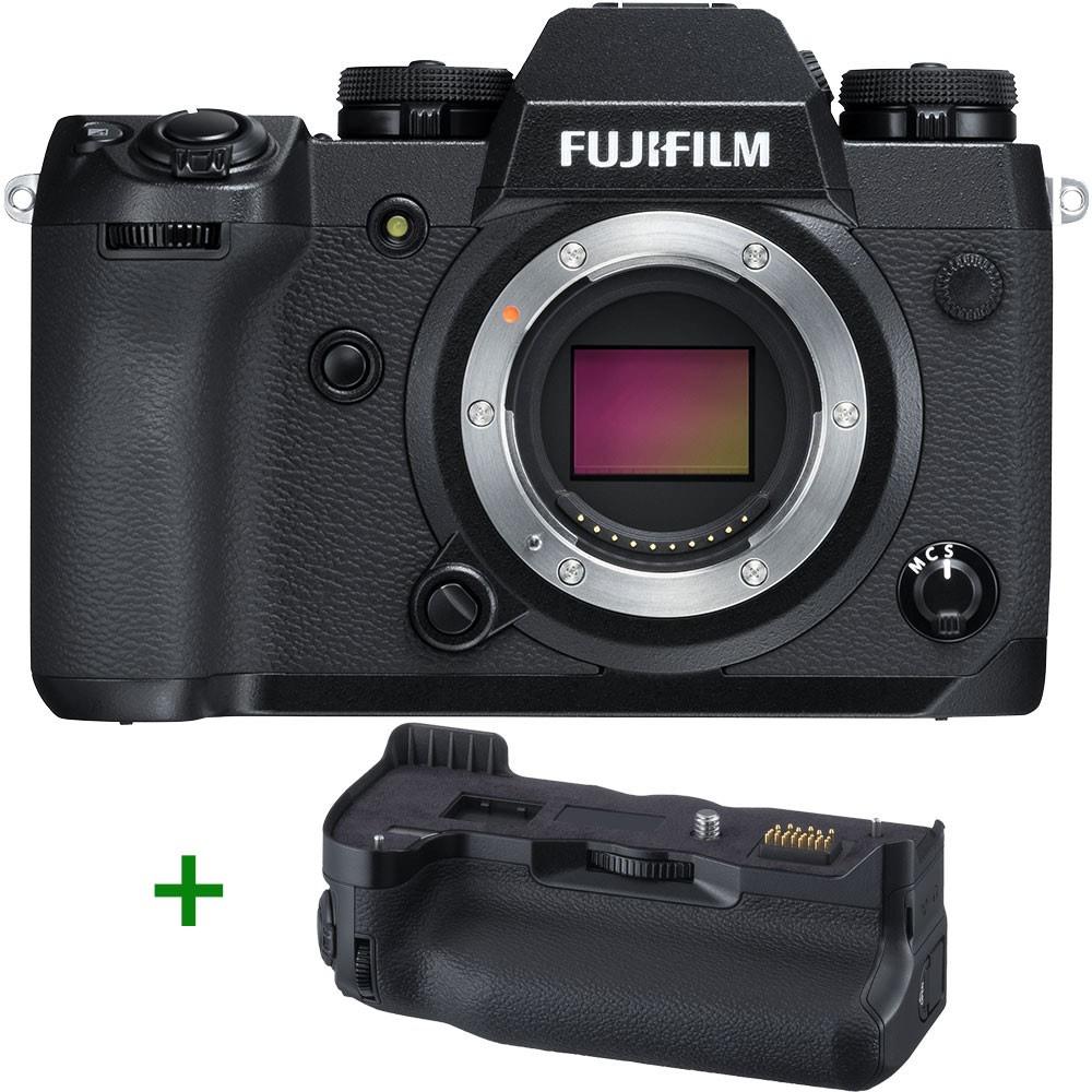 Fujifilm X-H1 Systemkamera inkl. Batteriehandgriff, 2 Extraakkus & 5 Jahre Garantie - Händler: ukdigital