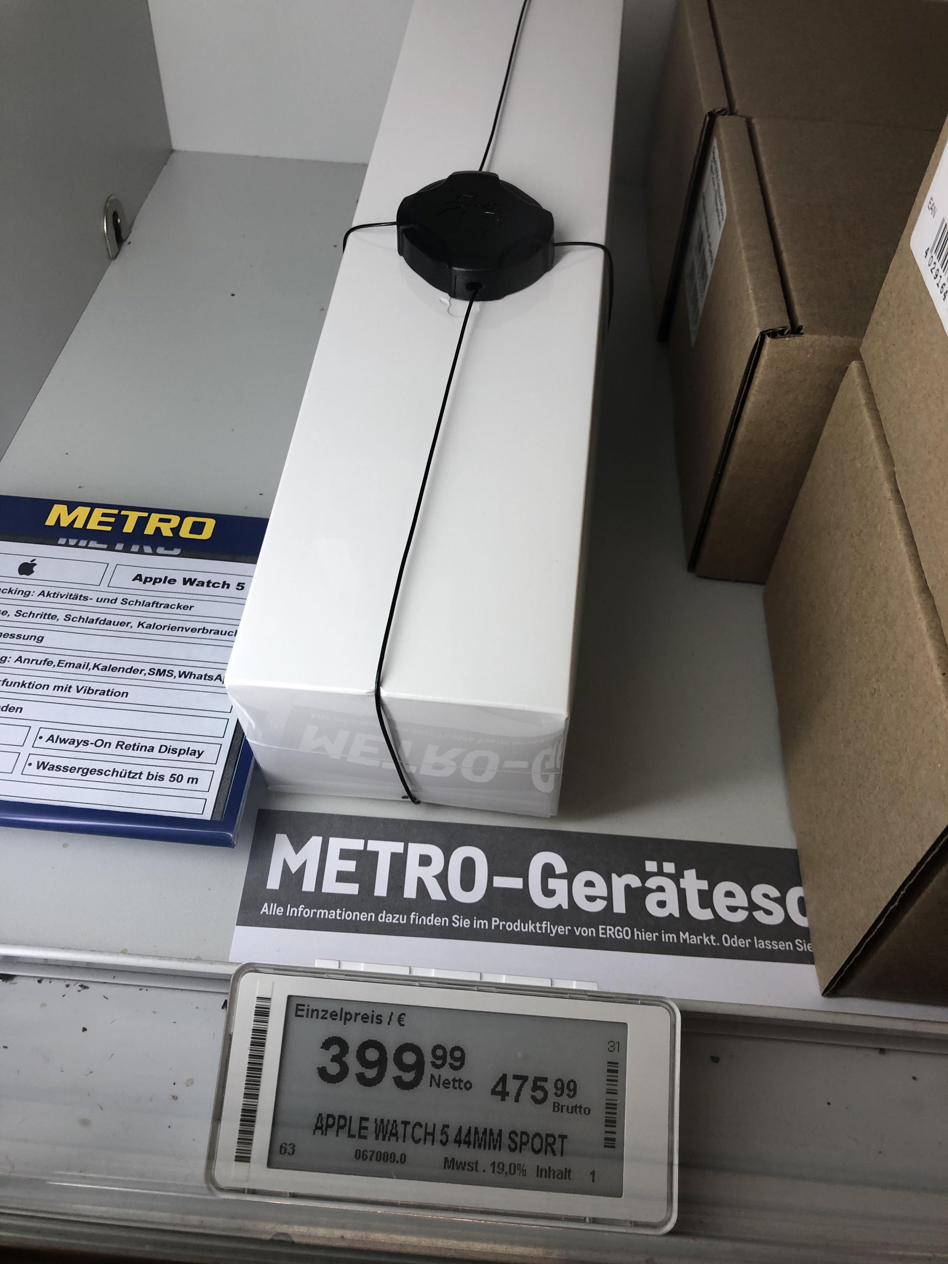 [Lokal] Metro München - Apple Watch 5 44mm Sport