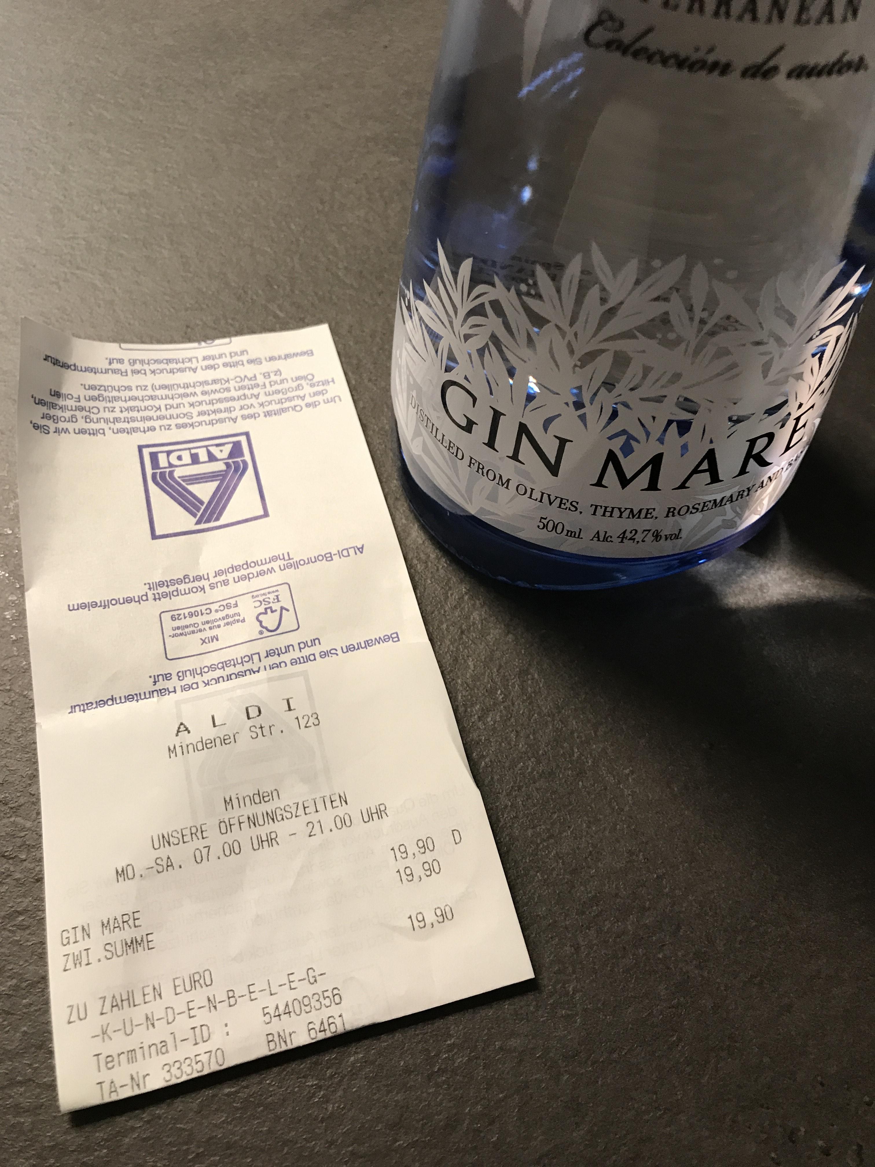 Gin Mare (Lokal Minden)