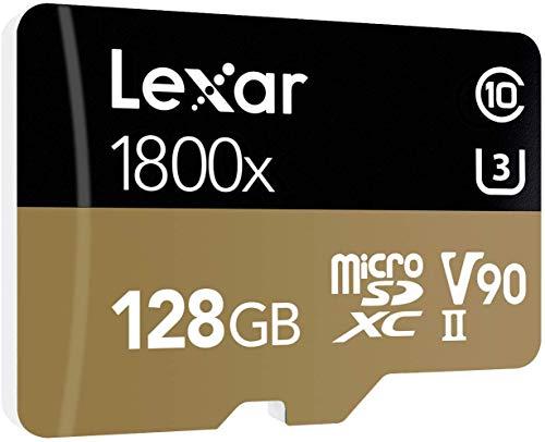 Lexar Professional 1800x microSDXC 128GB (270 MB/s)