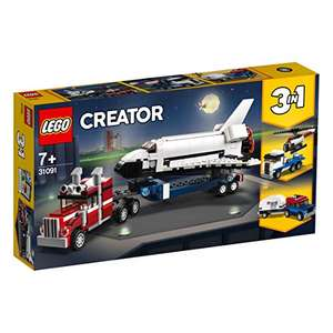 LEGO Creator - Transporter für Space Shuttle - 31091 [Amazon Prime]