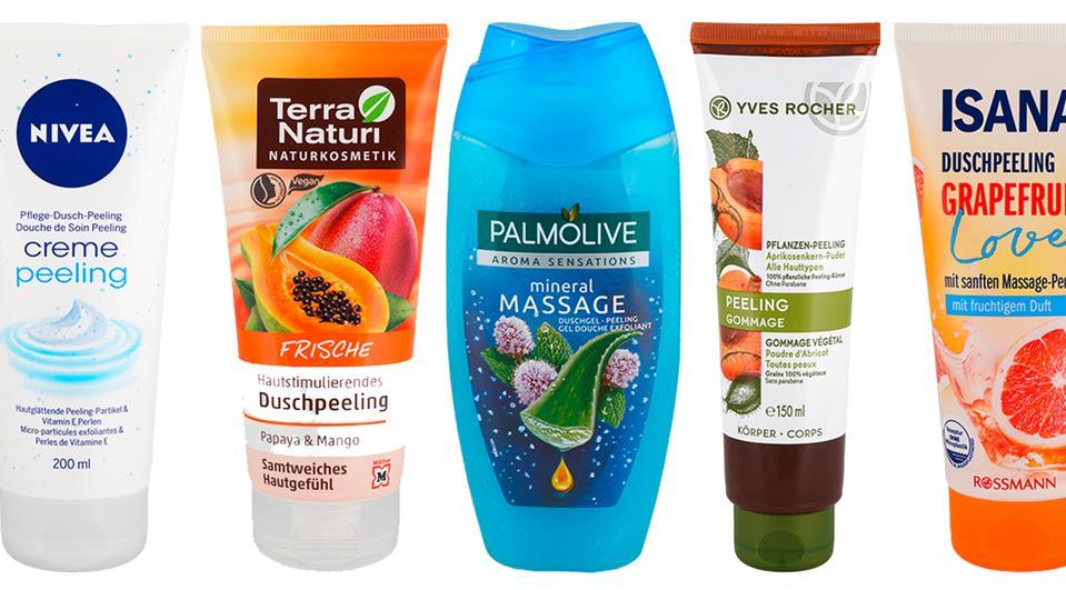 """[Öko-Test] Körperpeeling-Test: Jedes zweite Peeling ist """"sehr gut"""". Jetzt kostenlos Testergebnisse zu 50 Produkten abrufen"""