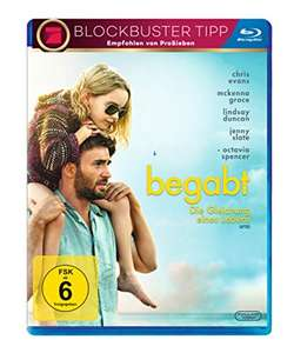 Begabt - Die Gleichung eines Lebens (Blu-ray) für 4,25€ (Müller Abholung)
