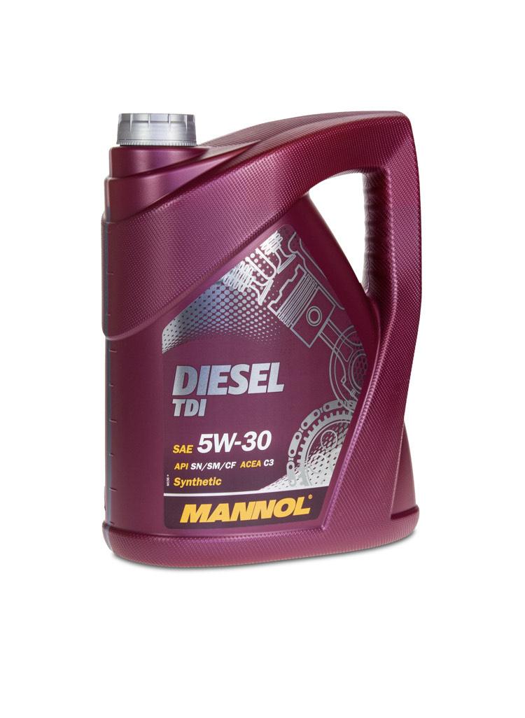 5 (1x5) Liter MANNOL 5W-30 Diesel TDI Motoröl bei Motoroel Günstiger