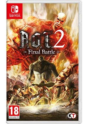 Attack on Titan 2: Final Battle (Switch) für 22,33€ (Base.com)
