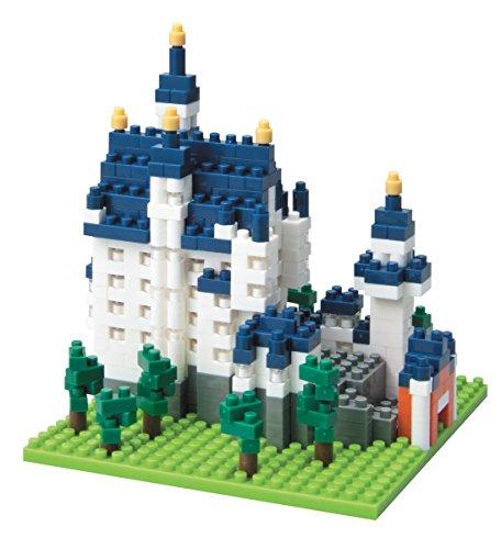 [Amazon Prime] nanoblock Schloss Neuschwanstein, Minibaustein 3D-Puzzle, 550 Teile