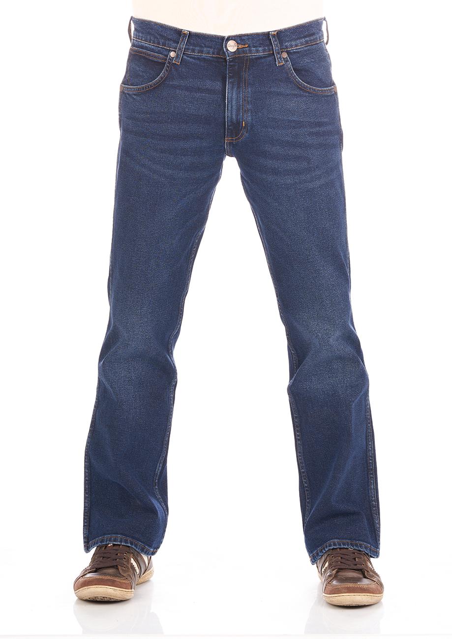 Wrangler Herren Jeans Jacksville Bootcut in 2 Waschungen (Viele verschiedene Größen)